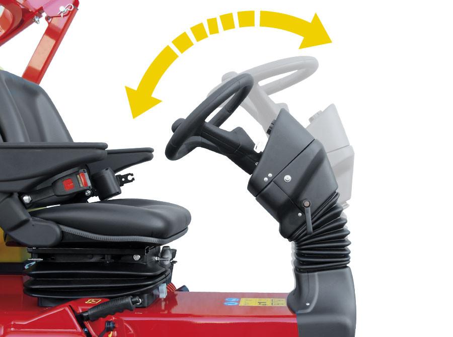 gianni ferrari steering wheel adjustment